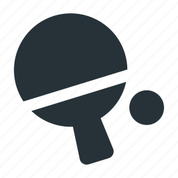 ball, ping pong, racket, table, tennis icon