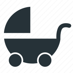 baby, carriage, wheel icon