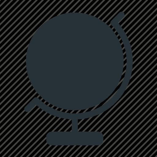 atlas, education, globe, map, school, world icon