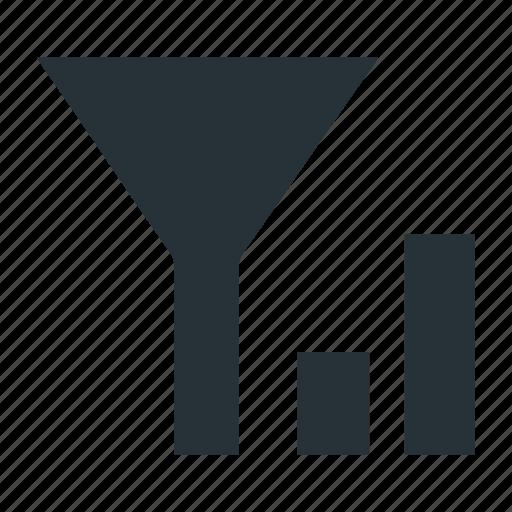 filter, sort, sorting, statistics icon