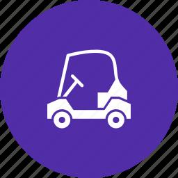 car, cart, electric, golf, sports icon