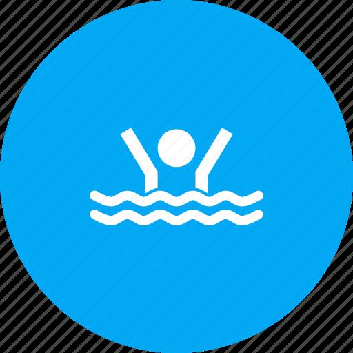 activity, exercise, pool, swim, swimming, water icon