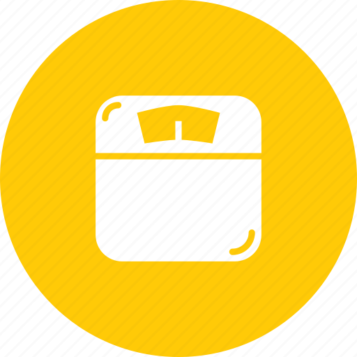 fitness, measure, monitor, scale, weighing, weight icon