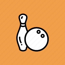 ball, bowling, fun, game, pin, tenpin icon