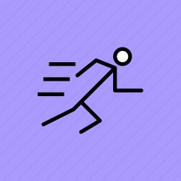 athletics, marathon, olympics, race, run, runner, running icon