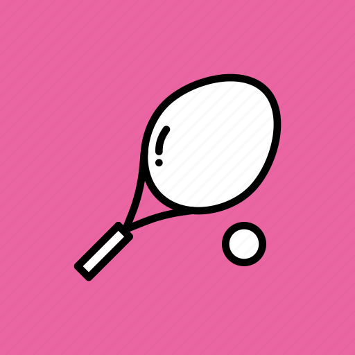 ball, game, play, racket, racquet, sports, tennis icon