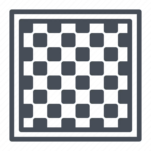 board, checkered, chess, game, play, strategy icon