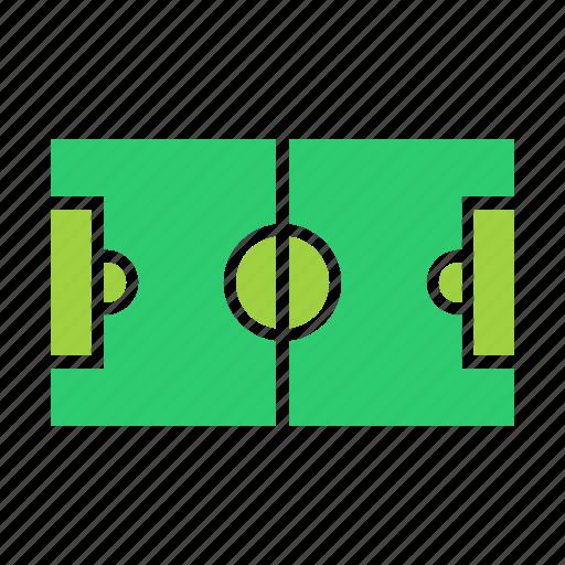 field, football, ground, play, soccer, sports, stadium icon
