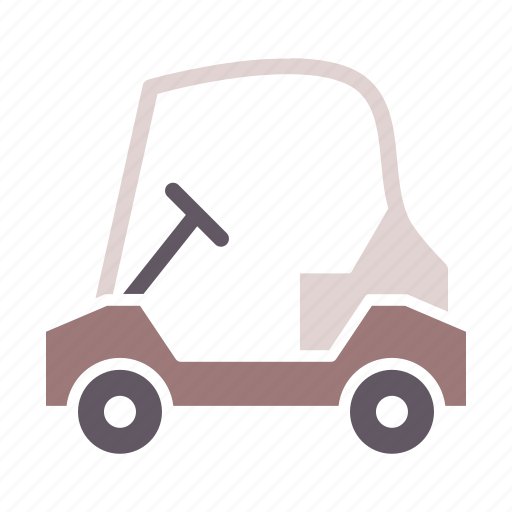 car, cart, golf, sports, transport, travel, vehicle icon