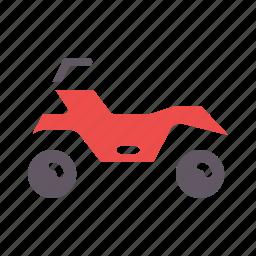 adventure, bike, motorcycle, mountain, quad bike, ride, sports icon
