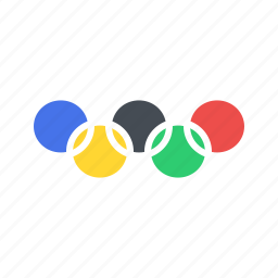 games, logo, olympic, olympics, ring, rings, sports icon