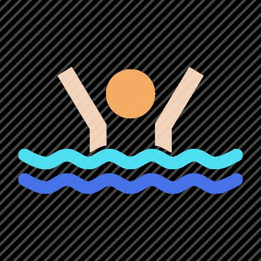 exercise, fun, olympics, pool, swim, swimming, water icon