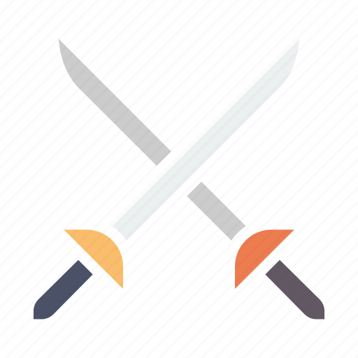 ammunition, fight, fighting, knife, sword, war, weapon icon