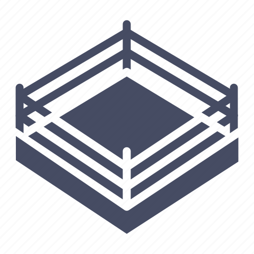boxing, competition, fight, game, match, ring, wrestling icon