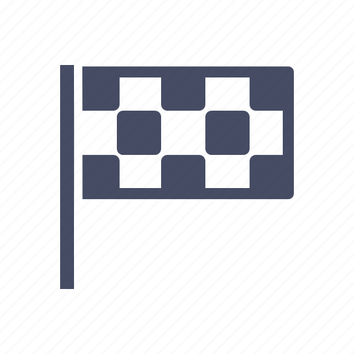 checkered, end, f1, flag, motorsport, race, racing icon