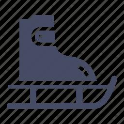 ice skating, olympics, shoes, skate, skateboard, skating, winter games icon