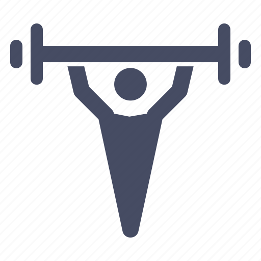 barbells, exercise, fitness, lift, olympics, weight, weightlifting icon