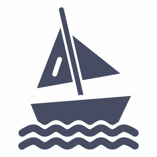 beach, boat, olympics, sailing, sports, water, yacht icon