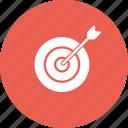 archery, arrow, board, bull, dart, eye, olympics icon
