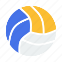ball, game, play, sports, volleyball icon