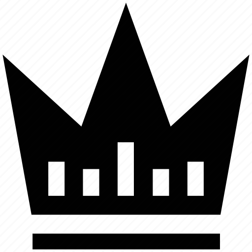 crown, king, queen, royal, winner icon