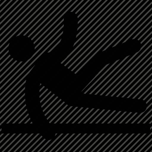 exercise, gymnastic, sports, sportsman, training icon