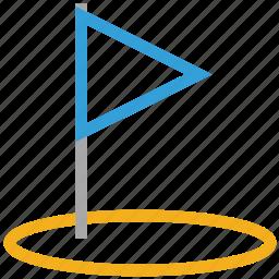 golf, golf club, golf flag, sports icon