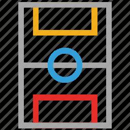 football ground, playground, soccer, soccer ground icon