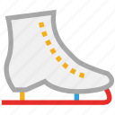 ice skates, ice skating, skates, sports icon