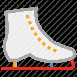 ice skates, ice skating, skates, sports icon