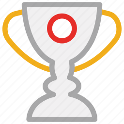 award, prize, trophy, winning cup icon