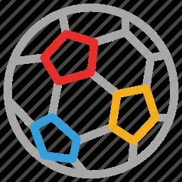 ball, soccer, soccer ball, sports icon