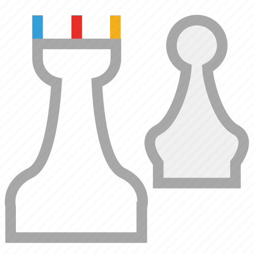 board game, chess, game, pawn icon