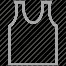 clothes, undershirt, underwear, vest icon