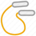 jump rope, jumping rope, skipping, skipping rope icon