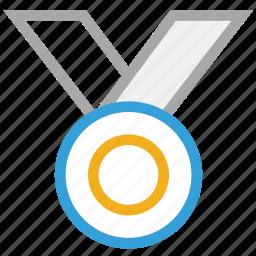 achievement, award, medal, prize icon