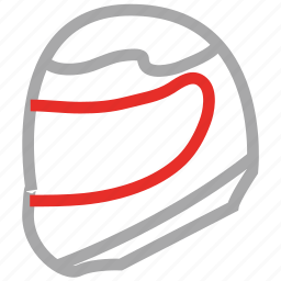 helmet, motorcycle helmet, protection, safety icon
