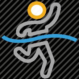 runner, sports, sportsman, winner icon