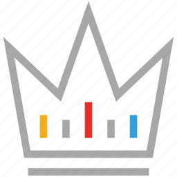 crown, king, royal, winner icon