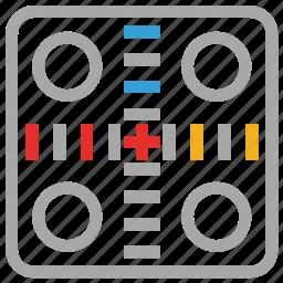 board game, casino, dice, gambling icon