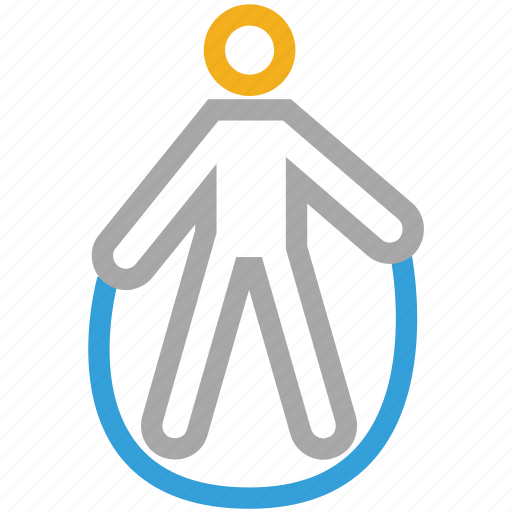 exercise, jump rope, jumping, jumping rope icon