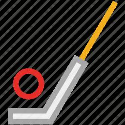 ball, game, golf, golf stick icon