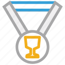 achievement, award, medal, winner icon