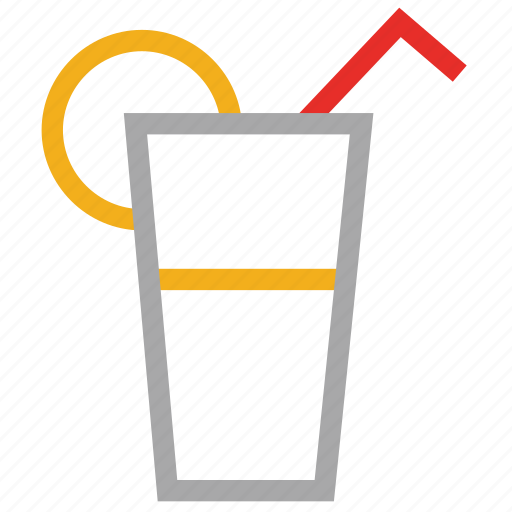 drink, juice, lemonade, summer juice icon