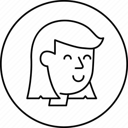 avatar, face, female, human, person, woman icon