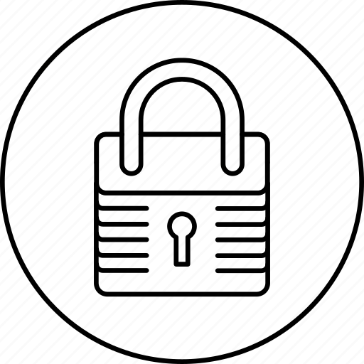 lock, locked, private, protection, safe, secure, security icon