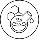 experiment, flask, research, science, substance icon
