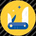army, knife icon