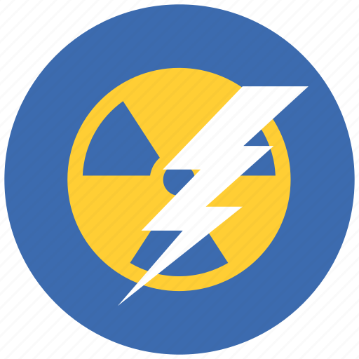 atomic, lighting, nuclear, power icon