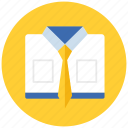 business, clothes, clothing, tie icon